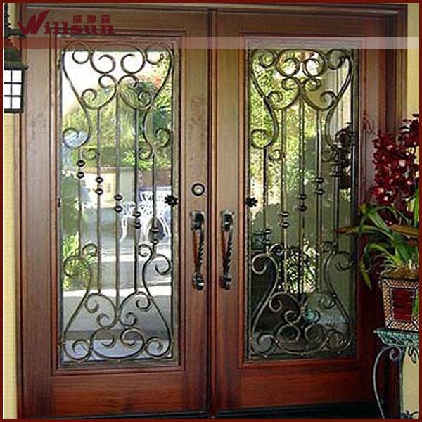 cina giardino gazebo in ferro battuto lowes francese porte esterne porta di metallo-Porta-Id ...