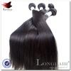 Hot Beauti 100% Human Unprocess Virgin Extens silky straight mongolian virgin hair extensions