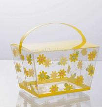 plastic cake box for birthday, wedding and gift