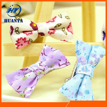 2014 new style cute colorful babies bowknot hair barrettes
