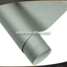 Car matte dark gray changing color vinyl film , bubble free car wrap PVC material body sticker 1.52*30m