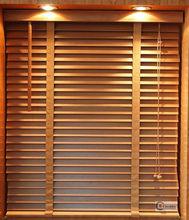 2014 decorative natural wood blind, wooden blind, wood window blind fireproof plastic wood slats