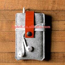 waterproof cell phone felt case