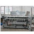 Jfb-241 7 moteurs verre machine taillante/bord du verre plat de polissage machine