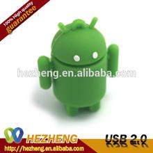 Bulk Cheap PVC Robot USB Flash drives Memory Stick 32GB