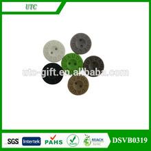 t shirt garment plastic pu rubber button