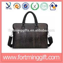 Fashion Design Leather Business laptop briefcase