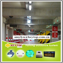 Keytop multi-function car parking solution-IP camera based parking guidance system+vehicle tracking system+cctv security