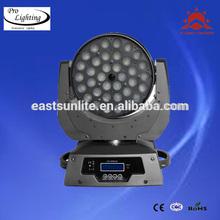Brightness 4 in 1 36*10w wash led moving head wash zoom