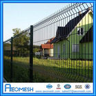 Powder Coated Welded Wire Mesh Garden Fencing Panel / PVC Outdoor Dog Fence A
