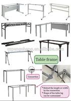 steel square frame/steel table frame/metal office furniture