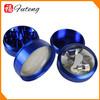 4 parts Color Custom herb grinder tobacco grinders handle
