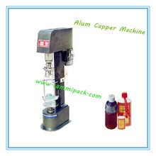 wine glass bottle aluminum cap machine/screw capping machine