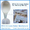 molde de silicona haciendo de yeso del techo de las cúpulas