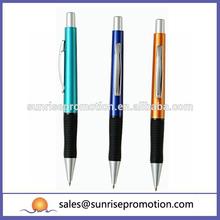Rubber Grip Metal Clip Souvenir Pen