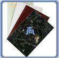 venta caliente impermeable a prueba de fuego de la fibra de cemento junta de chapa de mármol