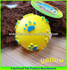 2014 wholesale products for Soft Rubber Dog Toy ball