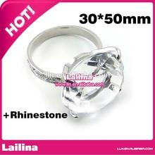 New Romantic Diamond Shape Napkin Rings White Sweet Wedding Party