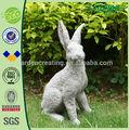 """18"""" komik hayvan tavşan bahçe heykeli süsler"""