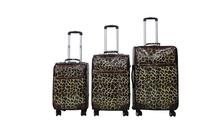 4 pcs hot sale high quality royal polo luggage trolley case