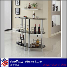 2014 Hot selling glass top outdoor bar table with low price