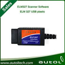 Hot Sales!!!OBD/OBDII Scanner ELM 327 car diagnostic interface scan tool ELM327 USB