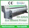 digital eco solvent printer 3.2m printer with Dx7 1440dpi banner printer