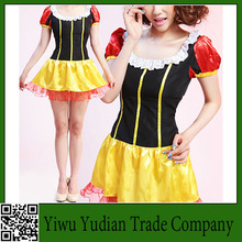 Snow White Costume Candy-Colored Bow Dress Sexy Cosplay Costumes
