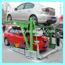 Mechanical Parking Lot TPTP-2 Two Post Tilting Car Parking Lift