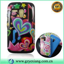 Popular Cell Phone Water Transfer Custom Cover Case For Moto G 2 In 1 Case
