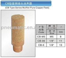 CB Type Series Muffler Pure Copper Feet