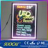 suocai hot selling alibaba express led acrylic menu board