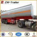 Tri ejes 45000 litros de aceite de combustible diesel del tanque acoplado semi/de combustible de camiones semi-remolque