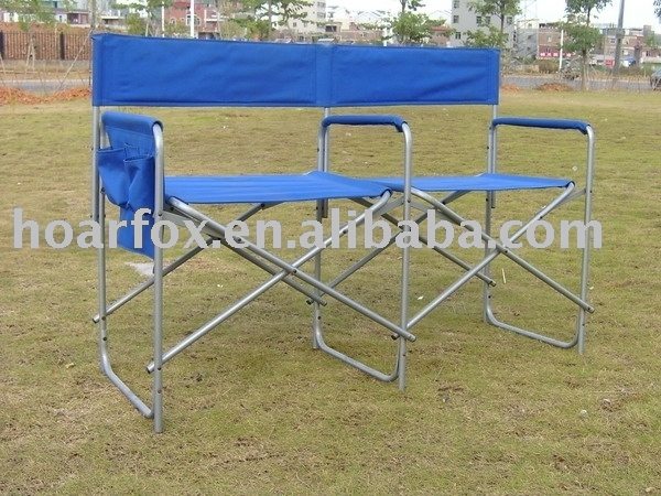 double seat chair View folding chair Product Details from Xiamen Hoarfox To