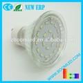 2014 el más nuevo diseño LED GU10 luz LED 20SMD 380LM CE RoHS nuevo ERP 360 degree LED bombilla llevada auto del bulbo