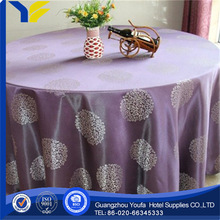 Lace Fabric new style Plain Dyed 2012 year new desin wedding table cloth