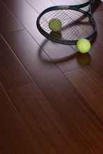 2014 good quality AB/A natural colour the best price solid teak wood flooring for living room
