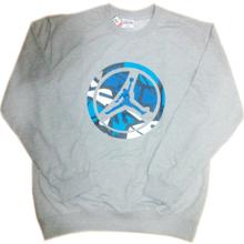 stock jordon sportswear basketball wholesale crewneck sweatshirt without hood