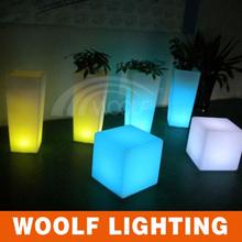 Charming Garden Square Waterproof LED Lighting Glow Flower Pot