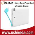 china shenzhen proveedor de regalos de la tarjeta el nombre de banco de alimentación cargador de ubicación de la tienda ofertas para iphone6