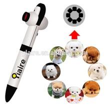 Custom multiple image projection ballpoint pen/logo projection pen