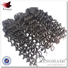 Virgin Hair Fantasi hot sale deep wave malaysian hair weave