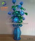 Shengjia LED CHRISTMAS Rose Vase Light best christmas tree gift 2013 for children