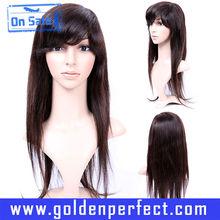 Alta qualidade reta de seda aceno halloween importação perucas