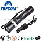 Zoom Led Police Flashlight Geepas Rechargeable Led Flashlight