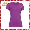 180G Promotional top quality 100% polyester tshirts plain wholesale/gym tshirt