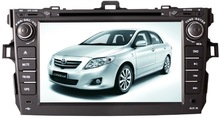 CE/FCC/ROHS Certification and Dashboard Placement car dvd player for toyota corolla 2012 car dvd gps