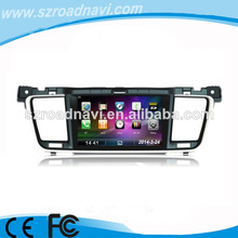 7inch 2DIN radio for Peugeot 508 with 3G MIC RDS