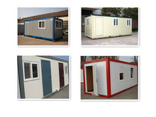 high quality steel structure prefab containers ablution