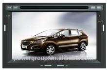 Car radio navigatin system car dvd gps 2 din for peugeot 3008 from Shenzhen POWER